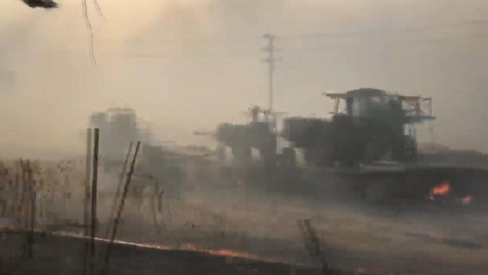 ABD'de Los Angeles Yakınlarındaki Yangınlarda 100 Bin Kişi İçin Tahliye Kararı
