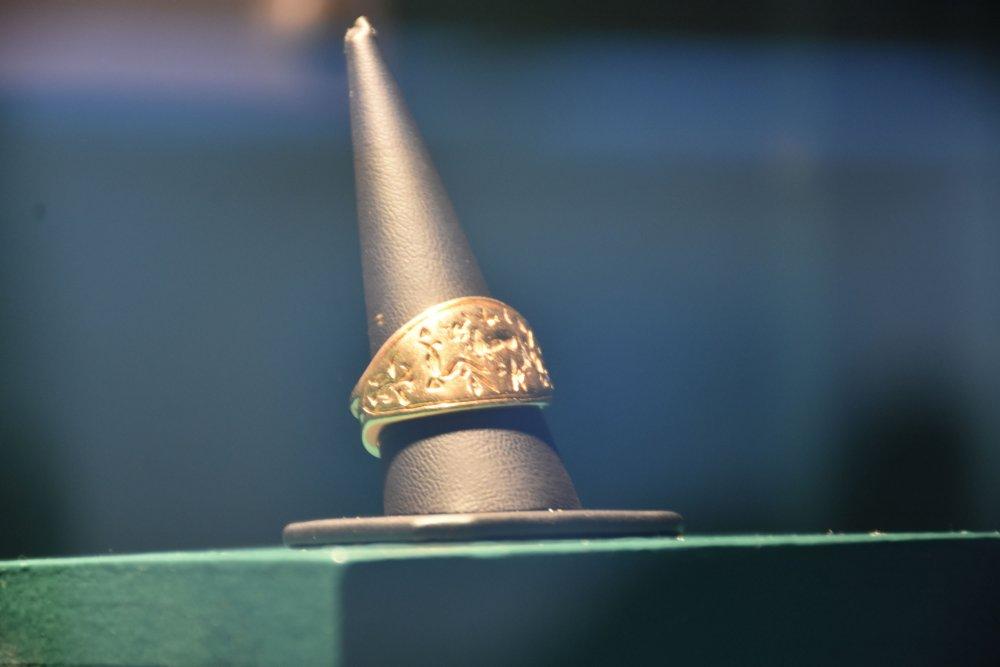 Arkeoloji Müzesi'nin Gözdesi; Hitit Dönemine Ait Altın Mühür Yüzük