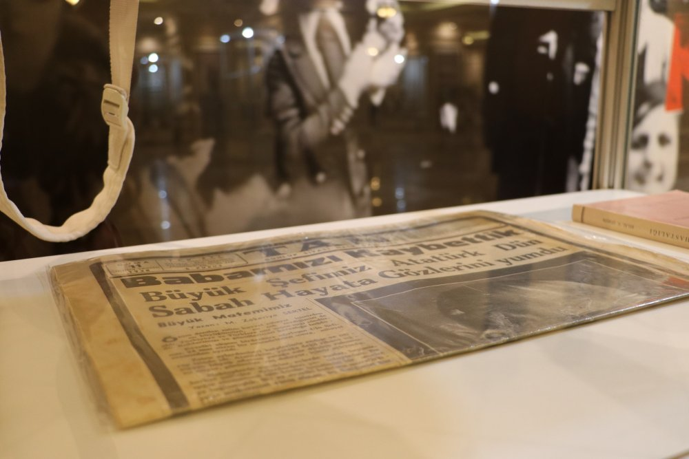 Atatürk'ün Sağlık Raporları, 'Anestezi Tarihi' Sergisinde