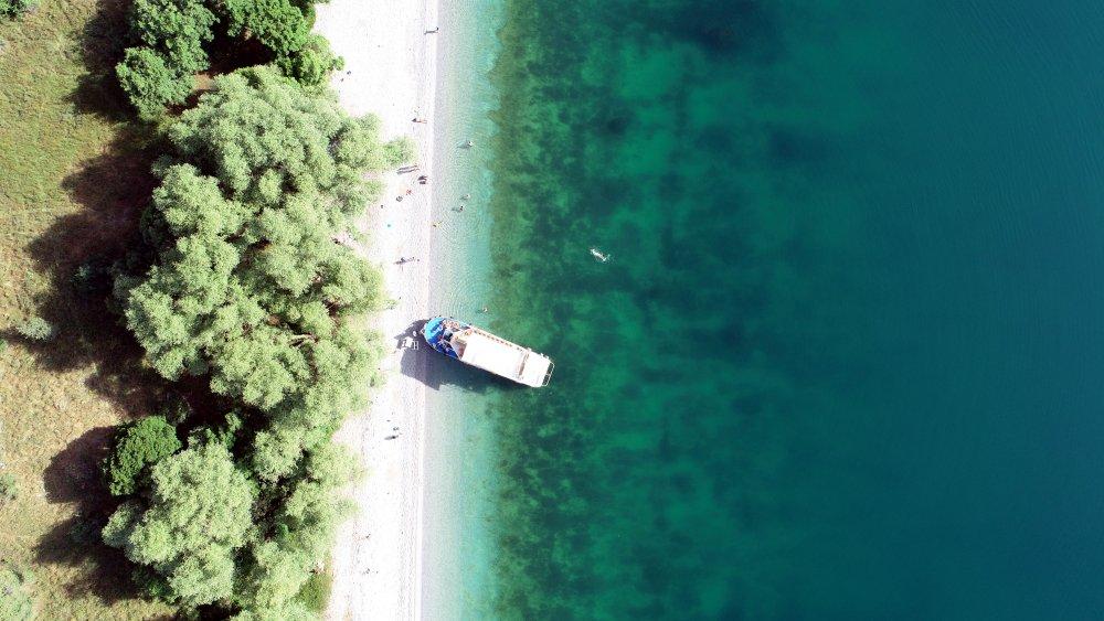 Astronotların Çektiği Van Gölü Fotoğrafı Yarışmada Yer Aldı, Kentte Sevinç Yaşandı