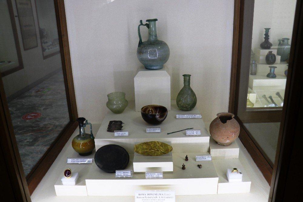 2000 Yıllık Yağdanlık Malatya Arkeoloji Müzesi'nde Sergileniyor