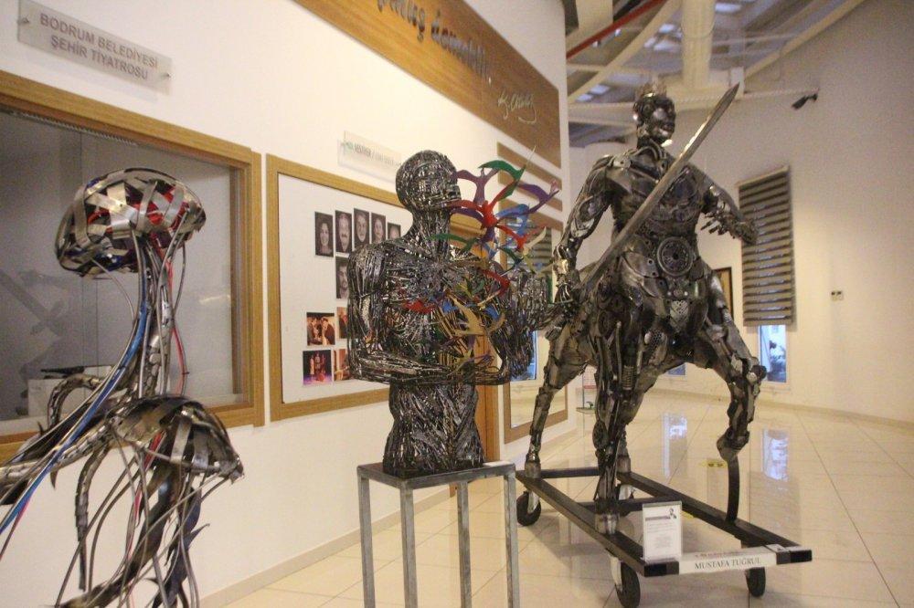 Sanat ve Antika Fuarına Yoğun İlgi